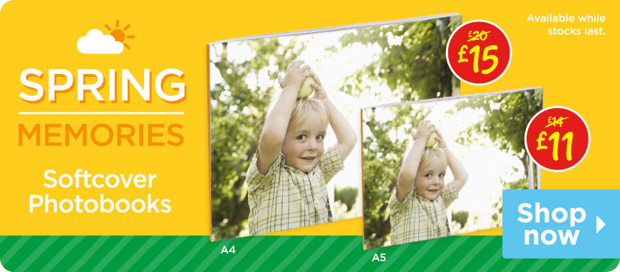 Spring Savers Softcover Photobooks