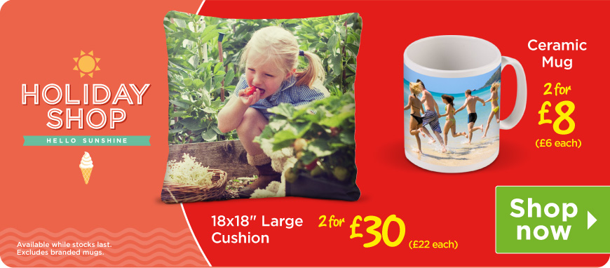 Summer Savers Cushions and Mugs
