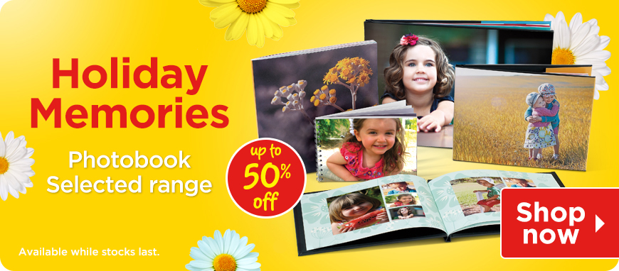 Holiday Photobooks
