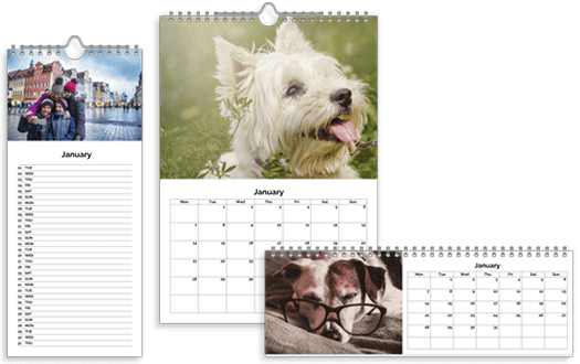 Personalised Calendars from £8.50