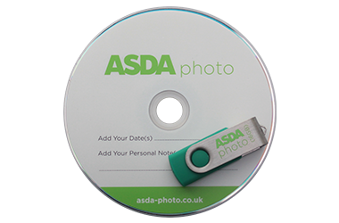 Asda photo CD and USB