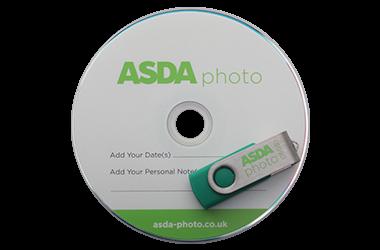 Asda photo CD and USB