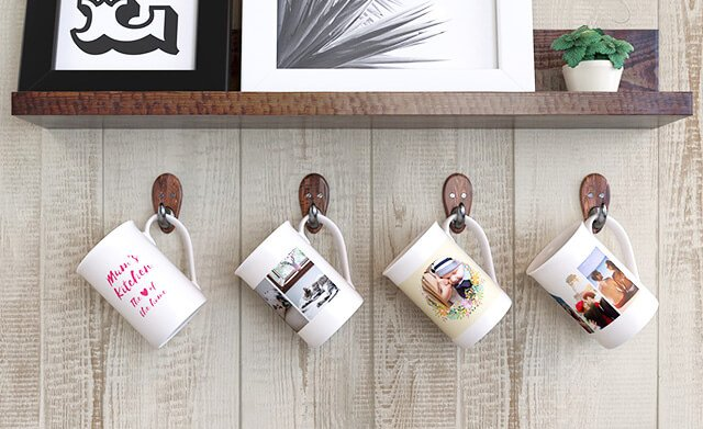 Photo Fine Bone China Mugs