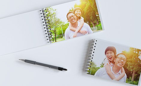 Ring bound photo book