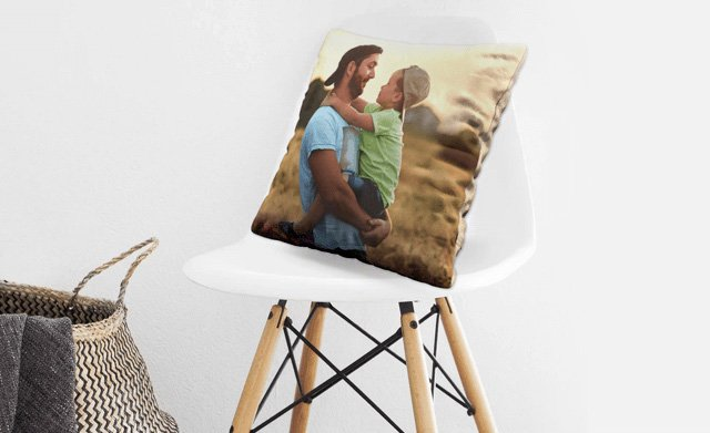 Father's Day Photo Cushion