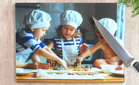 Photo printed chopping board