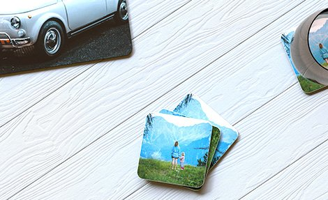 Photo coasters & placemats
