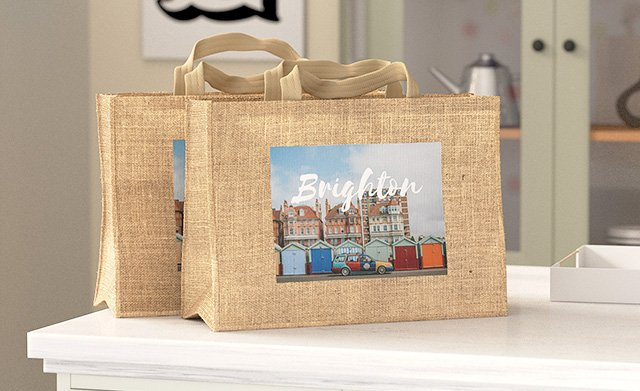 25% Off Personalised Jute Bags