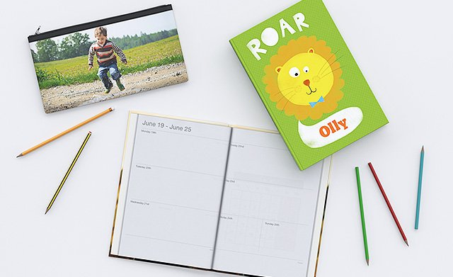 Personalised stationery from ASDA photo
