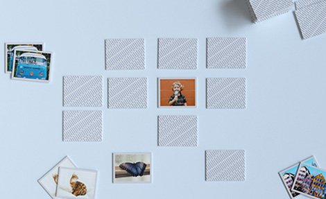 Photo pairs game
