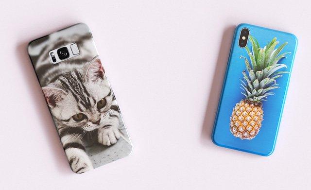 Photo printed phone cases
