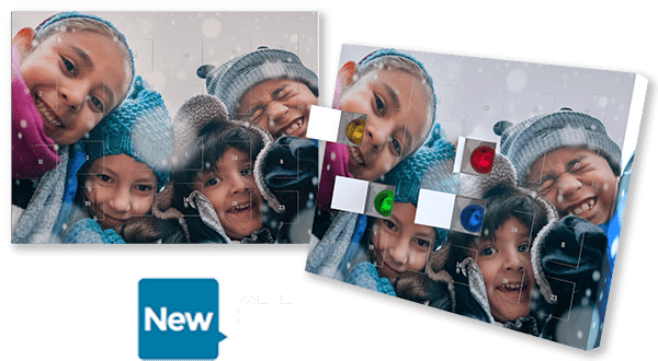 Photo advent calendars