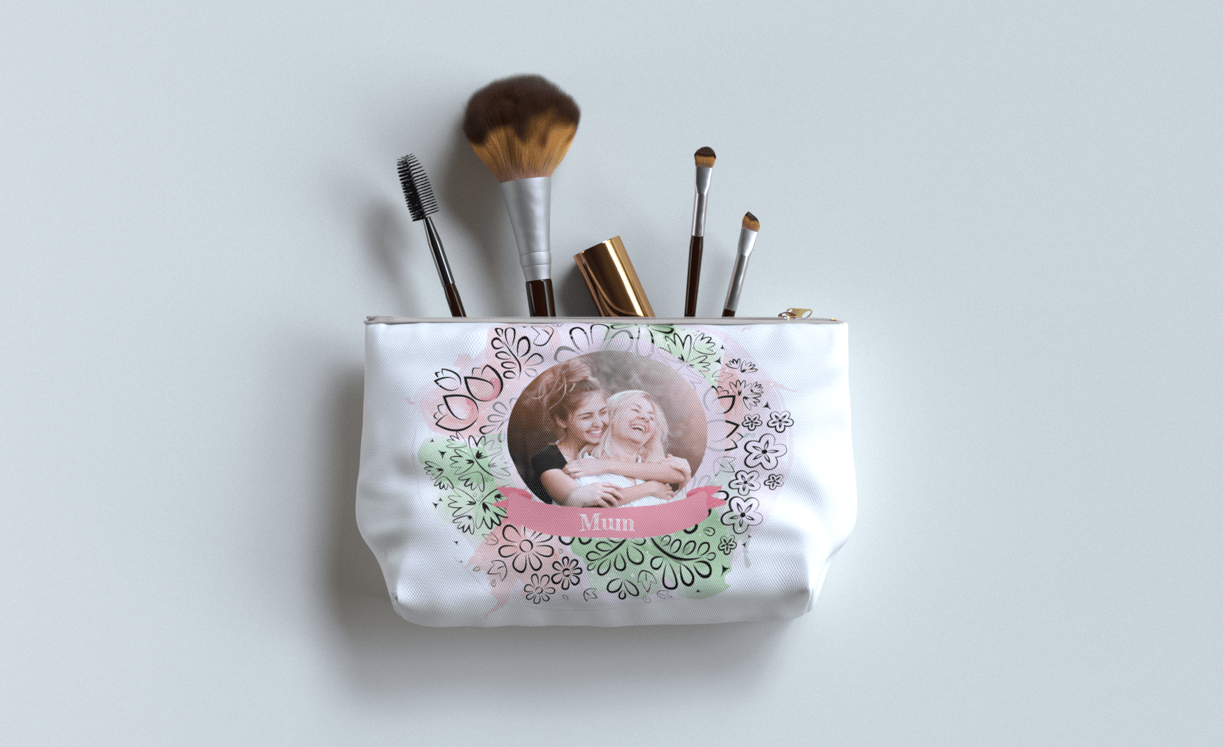 Personalised Wash Bags for Mother's Day