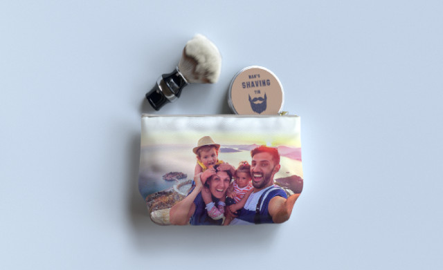 Personalised Wash Bags for Father's Day