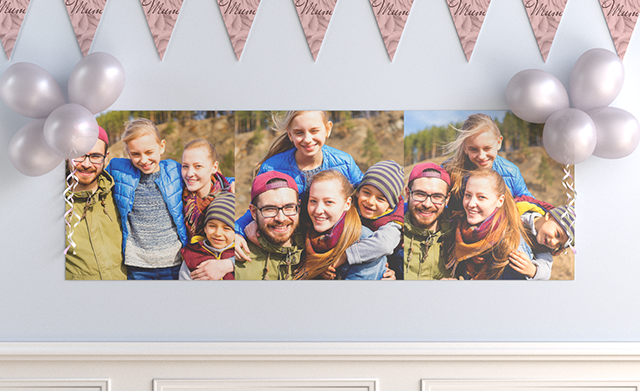Personalised Banners & Bunting for Mother's Day