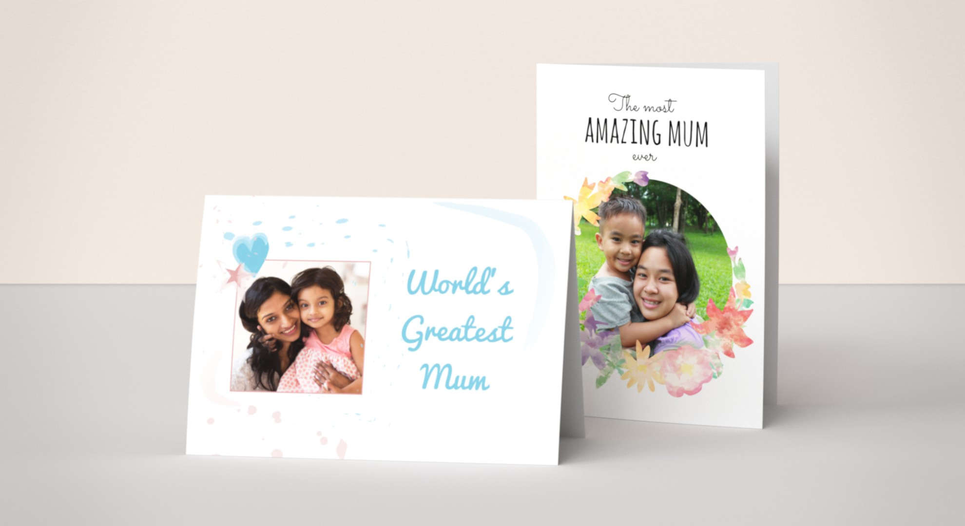 Personalised Cards for Mum