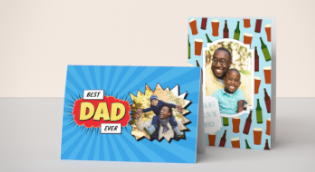 Personalised Cards for Dad