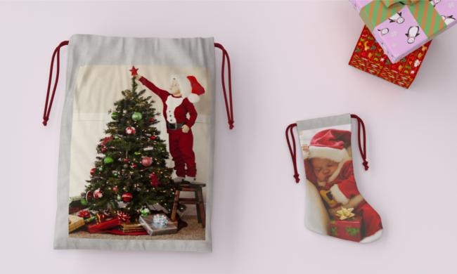 Christmas Photo Bags