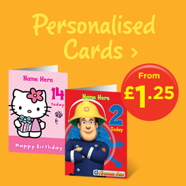 Celebrate with ASDA Personalised Cards!