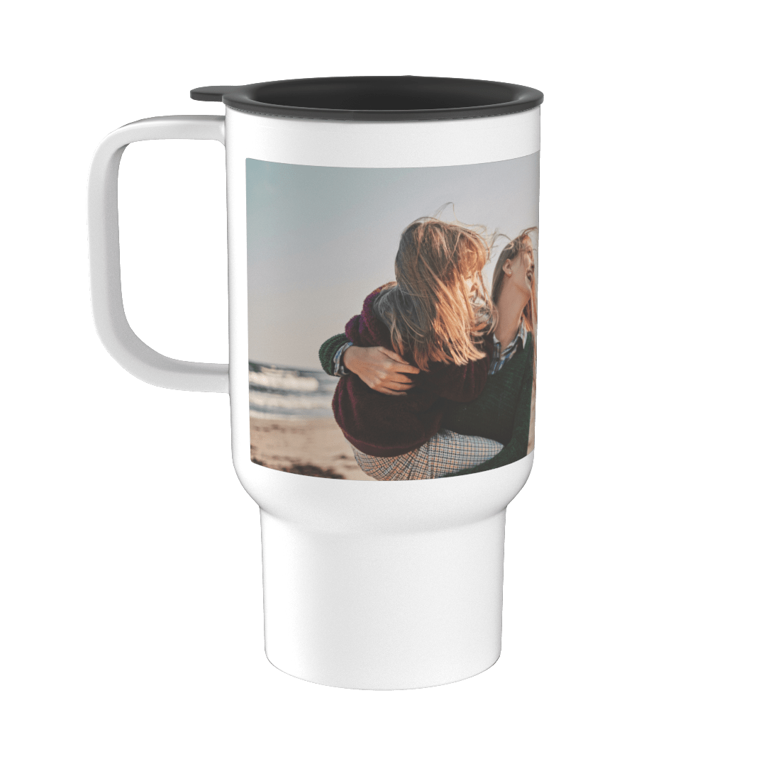 Personalised Travel Mug with Handle