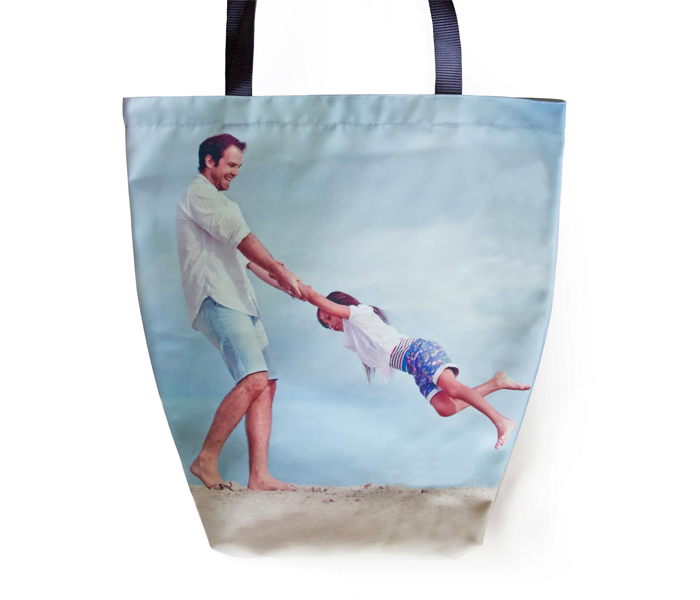 TEST Canvas Beach Bag (Double sided, same image both sides) Icon