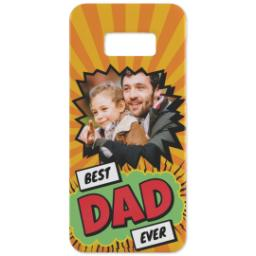 Thumbnail for Personalised Phone Case Samsung S8 with Best Dad Ever Explosion design 2