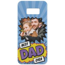 Thumbnail for Personalised Phone Case Samsung S8 with Best Dad Ever Explosion design 3