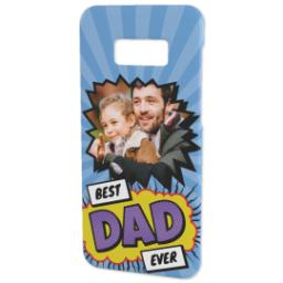 Thumbnail for Personalised Phone Case Samsung S8 with Best Dad Ever Explosion design 4