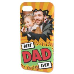 Thumbnail for Personalised iPhone 7 Case with Best Dad Ever Explosion design 2