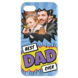 Thumbnail for Personalised iPhone 7 Case with Best Dad Ever Explosion design 3