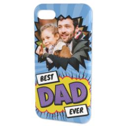 Thumbnail for Personalised iPhone 7 Case with Best Dad Ever Explosion design 4