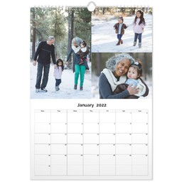 Personalised Calendar | Make Your Own Photo Calendar | ASDA